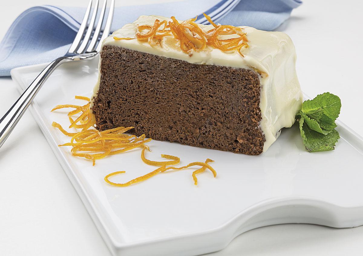 Cake de chocolate Julieta