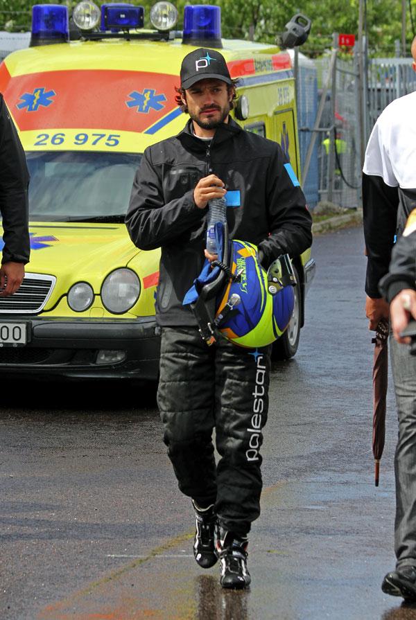 Carlos-Felipe-de Suecia en las carreras de Gotemburgo