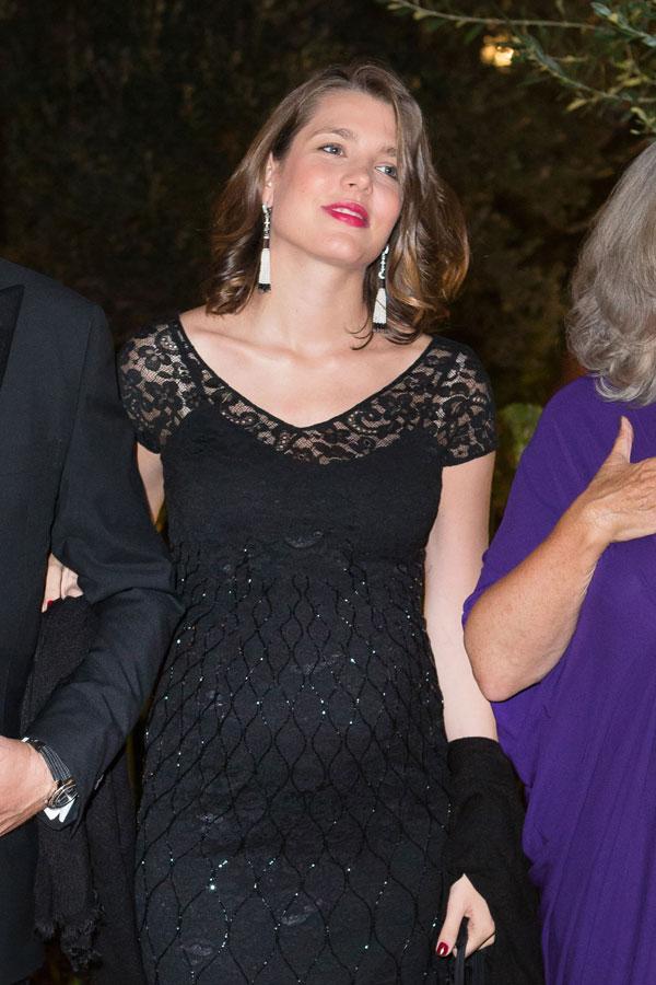 Carlota-de Mónaco en una cena benéfica