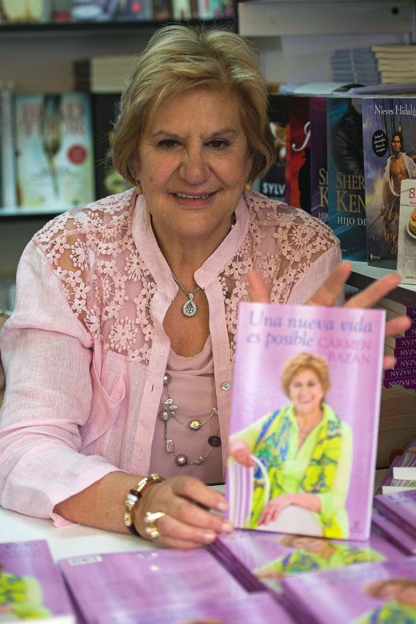 Carmen-Bazan en la Feria del Libro de Madrid