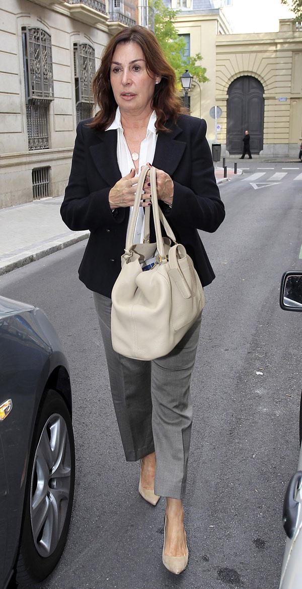 Carmen Martínez Bordiú en Madrid el día del 30 cumpleaños de su nuera, Margarita Vargas