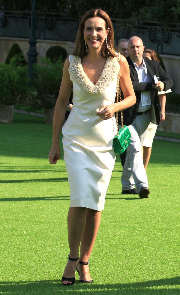 Carole-Bouquet en el Hotel de Paris de Mónaco