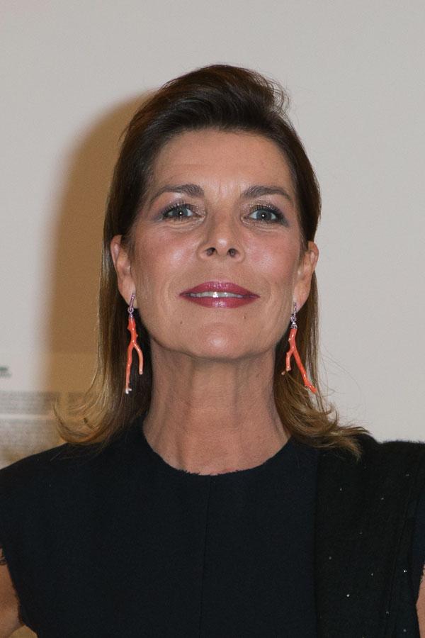 Carolina-de Mónaco en una cena benéfica