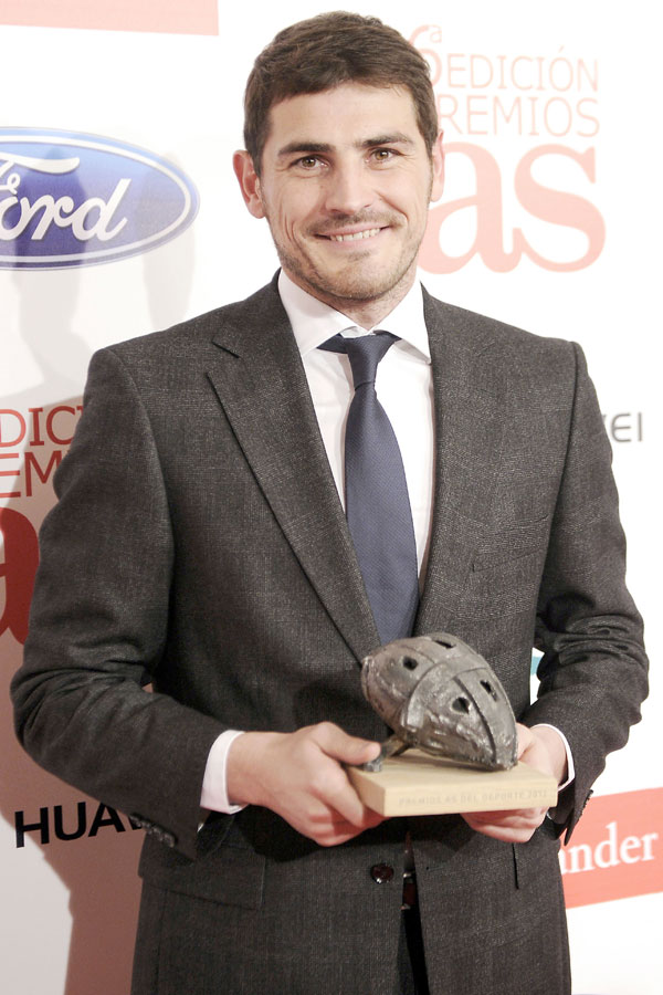 Iker Casillas-premio As