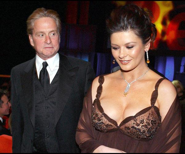 Michael Douglas y Catherine Zeta Jones en el Festival de Berlin de 2003