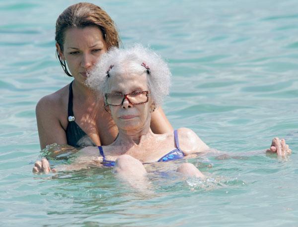 Cayetana Fitz-James Stuart en Ibiza