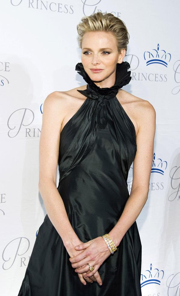 Charlene de Mónaco sola en Nueva York en la entrega de los 'Premios Princesa Grace