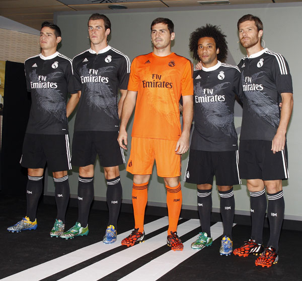 James, Bale, Casillas, Marcelo y Alonso