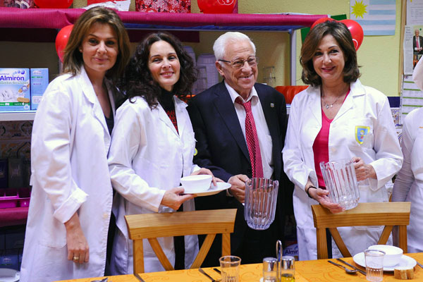 Nuria González, Silvia Marsó, El padre Ángel y Ana Rosa