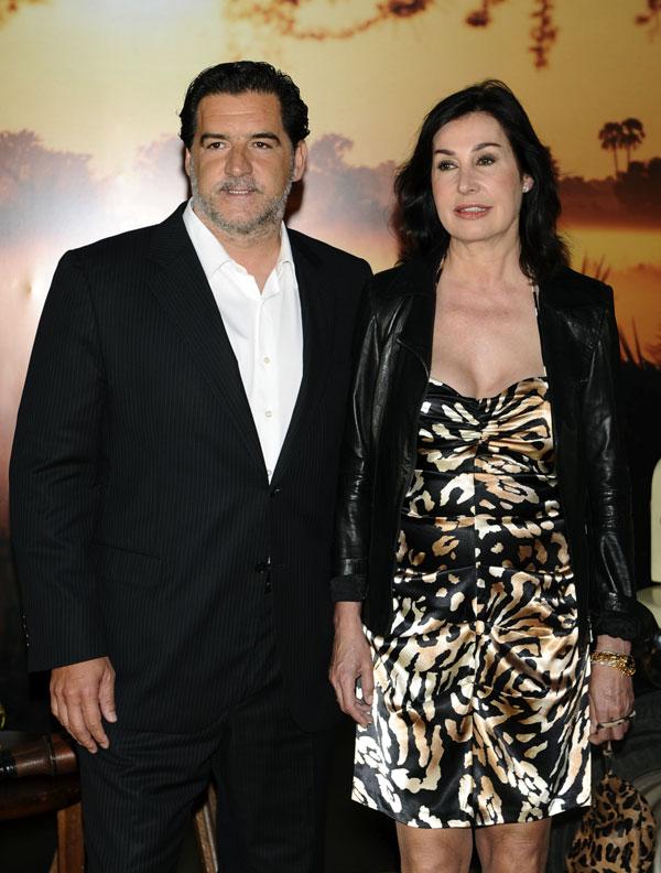 Carmen Martínez-Bordiú y José Campos antes de su divorcio