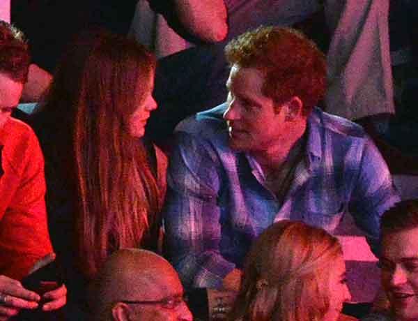 Príncipe Harry y Cressida Bonas