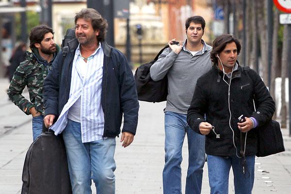Fran Rivera, Cayetano River, Julian Contreras y Julián Contreras Jr