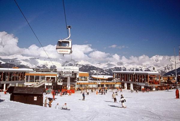 Courchevel estación de esquí francesa
