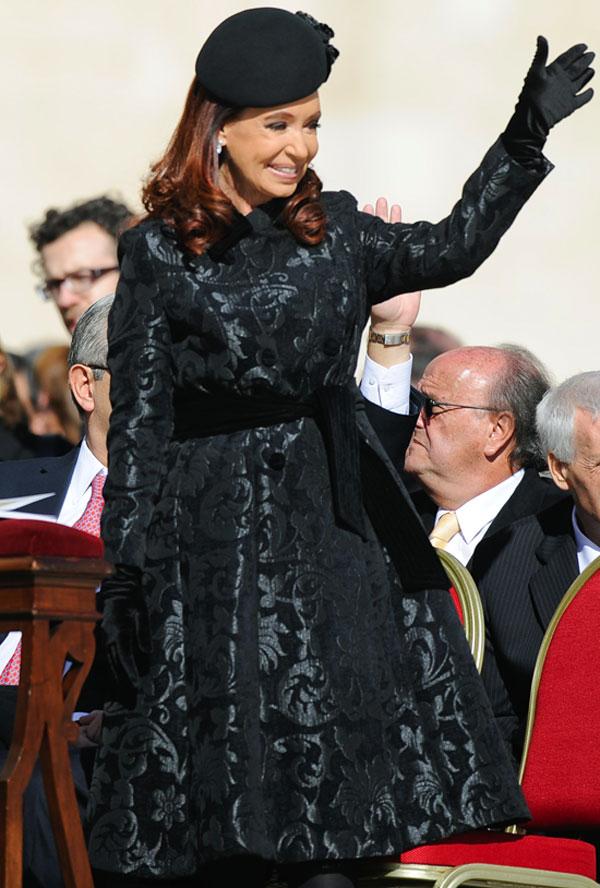 Cristina-Fernández de Kirchner acaba de ser abuela