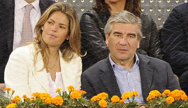 Cristina Valls Taberner y Francisco Reynes en la Caja Magica