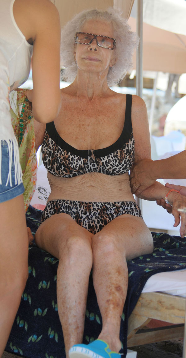 Duquesa de Alba, Cayetana Fitz-James Stuart, en Ibiza
