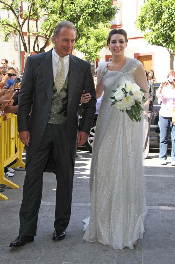 Bertin Osborne, padre y padrino en la boda de su hija Eugenia Ortiz