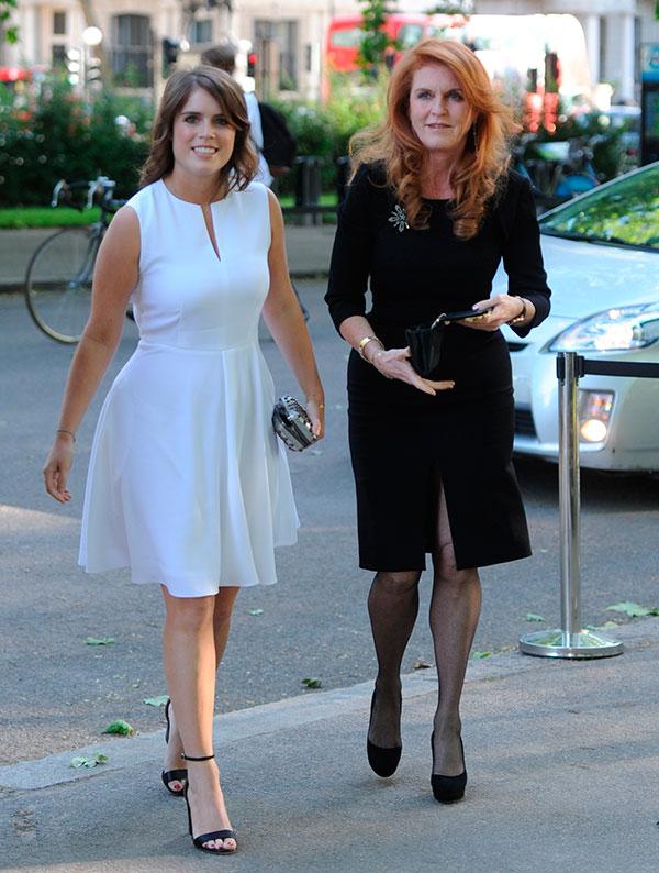 Eugenia de York y Sarah Ferguson Londres, Reino Unido : 10 de junio 2014