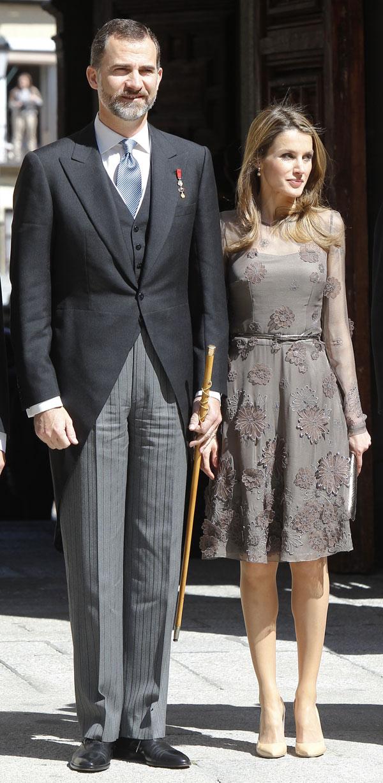 Felipe de Borbón y Letizia