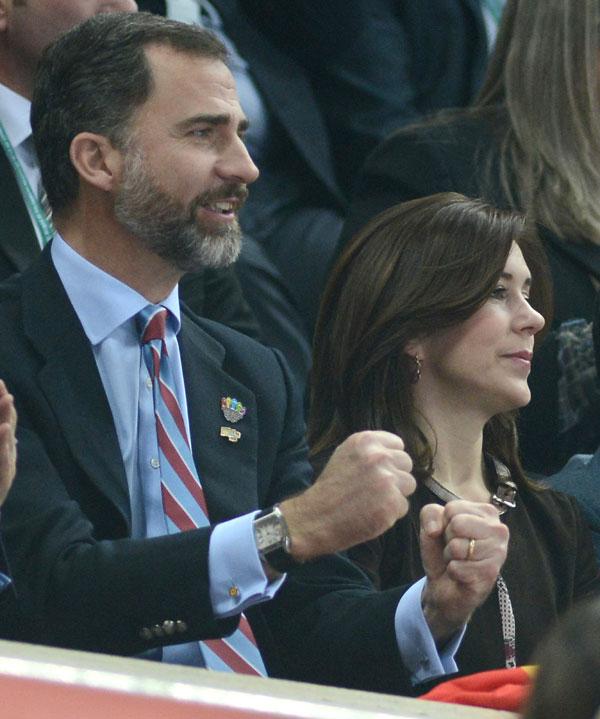 Felipe-de Borbón y-Mary-Donaldson en Barcelona