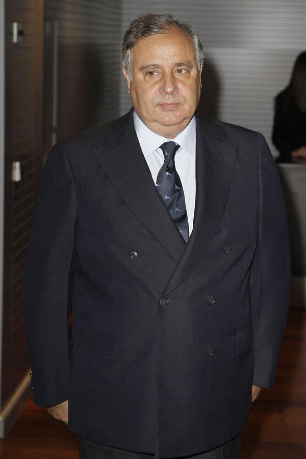 Fernando Martínez de Irujo, marqués de San Vicente del Barco, en Madrid