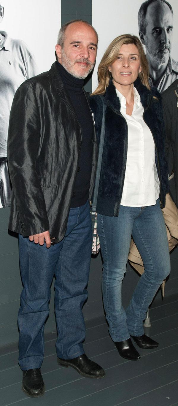 Fernando Guillén Cuervo y su hermana Natalia