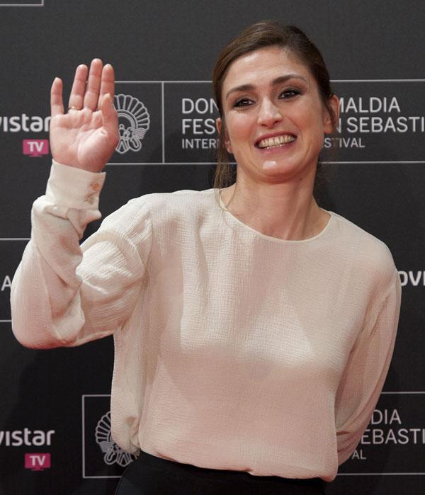Actriz Julie Gayet promover su película , '' Quai d' Orsay '' , para el Festival de Cine de San Sebastián 61 ª , en San Sebastián, norte de España, Martes, 24 de septiembre 2013 Ciudad : San Sebastian