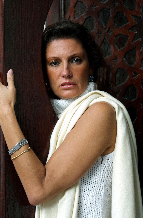 Carmen Ordóñez en Tanger-2001