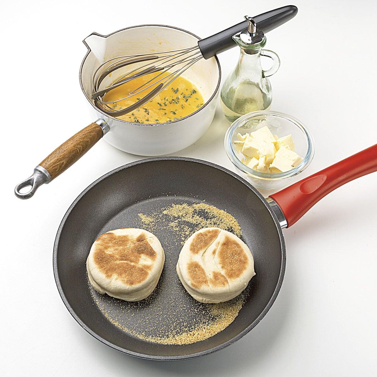 huevos benedictine receta