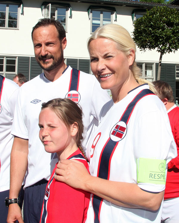Haakon- y Mette-Marit de Noruega