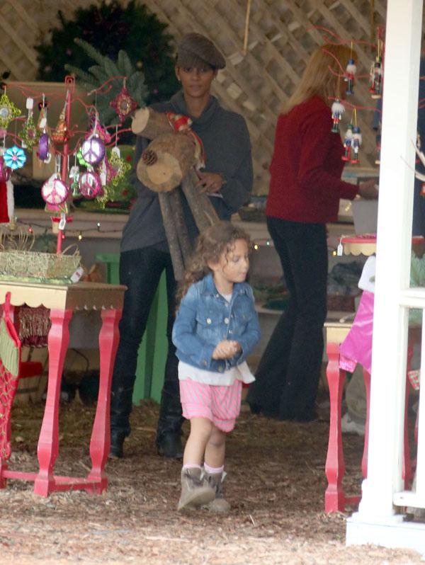 Halle Berry y su hija Nahla