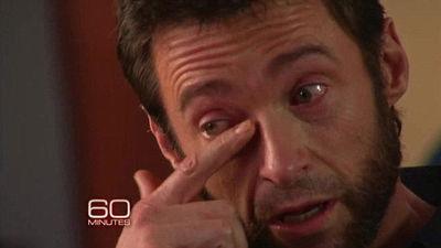 Hugh Jackman-llorando