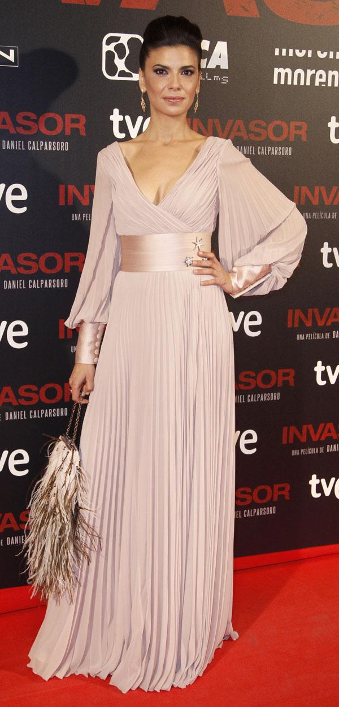 Irene-Visedo-en el estreno de Invasor en Madrid