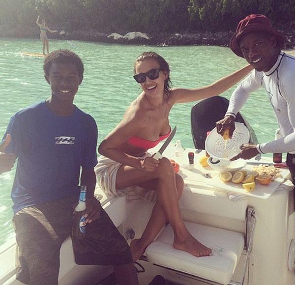 Irina Shayk en Instagram