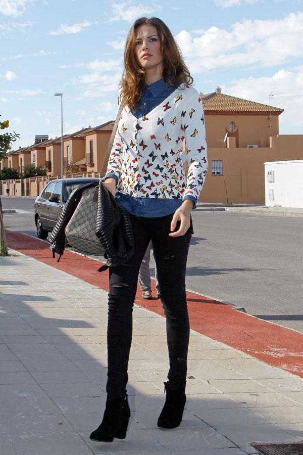 Jessica Bueno en Los Molares (Sevilla)
