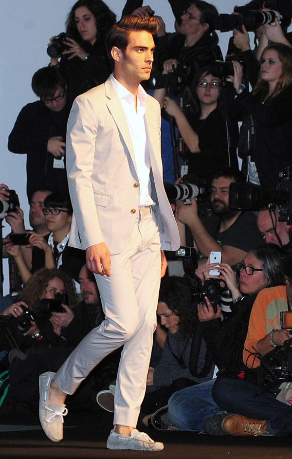 Jon Kortajarena en la 080 Barcelona Fashion