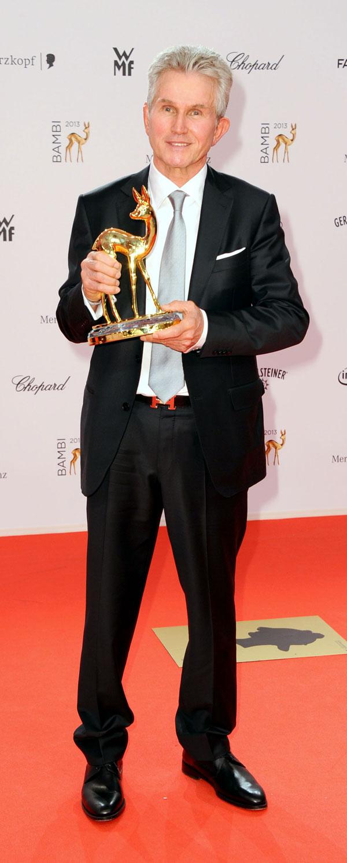 Jupp Heynckes en Berlín, en la gala de los premios Bambi 2013