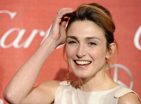Actriz Julie Gayet en el 2012 Palm Springs International Film Festival Gala de los Premios sábado 7 de enero de 2012 en Palm Springs , California