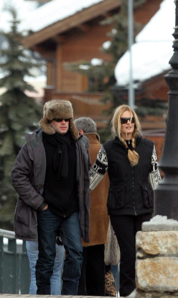 Karen-Mulder en Courchevel el 28/01/2006