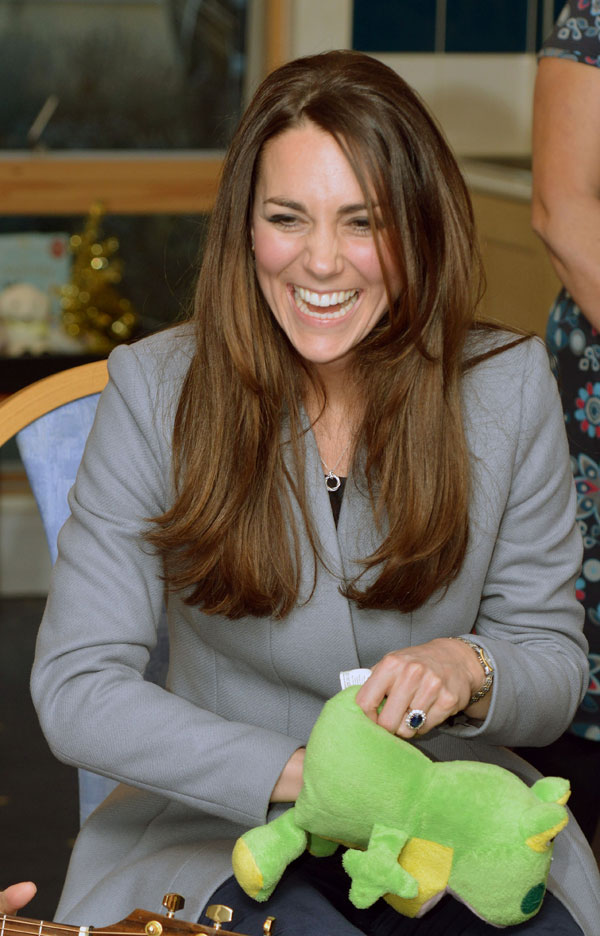 Kate Middleton en el Shooting Star House Hospice de Londres