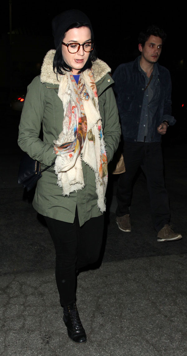 Katy-Perry-y-John-Mayer-en West Hollywood