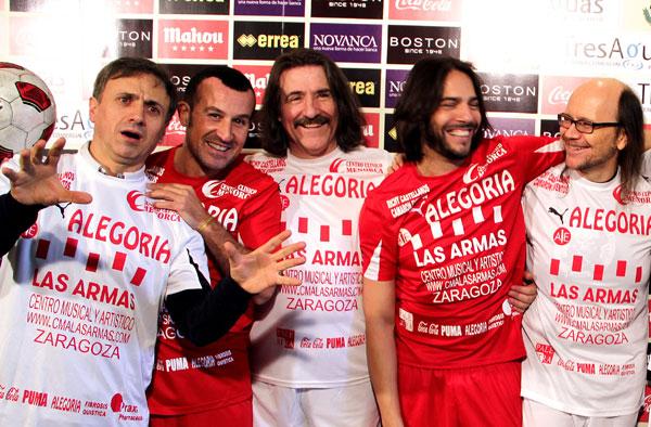 Jose Mota, Richy Castellanos, Luis Cobos y Joaquin Cortes