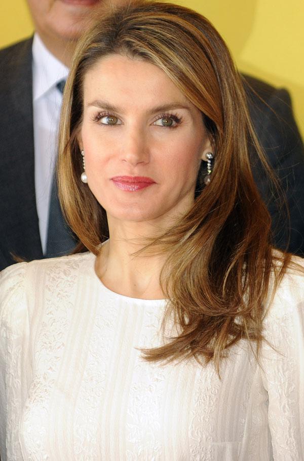 La princesa Letizia-con la Marca España
