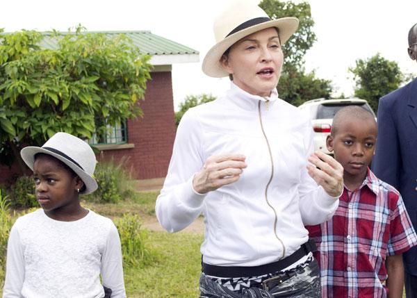 Madonna hijos Malaui