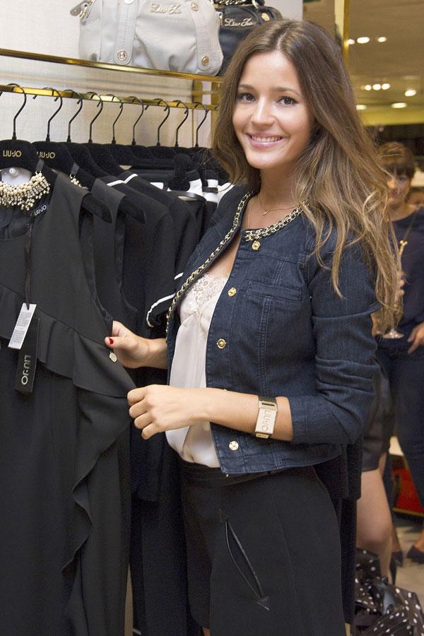 Malena Costa en la presentación de la nueva colección de ropa de Jo en Madrid