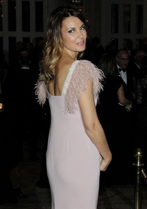 Mar Flores en la gala de las medallas de oro Reina Sofía en el Waldorf Astoria de Nueva York