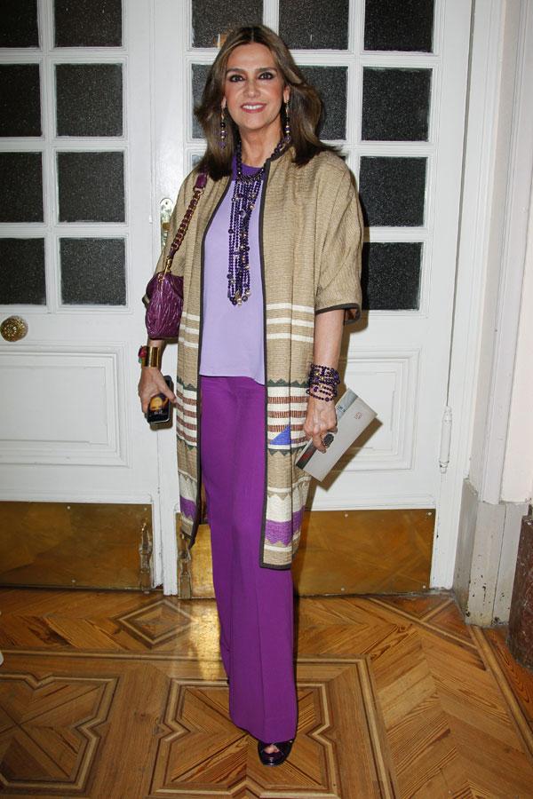 Marina Danko en los premios Telva de Belleza