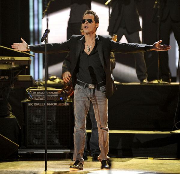Mark Anthony en la gala de los Grammy Latinos 20213