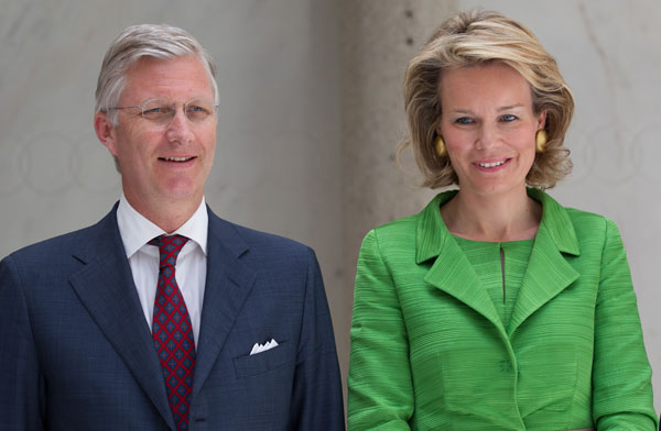 Matilde y Felipe de Belgica en Lausana