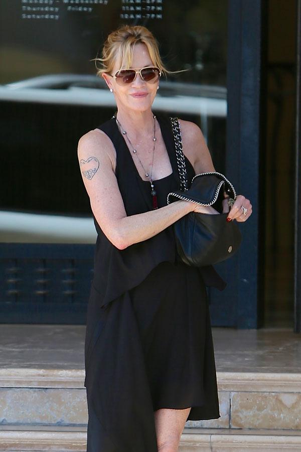Actress Melanie Griffith in Santa Monica June 10, 2014 Ciudad: Santa Monica